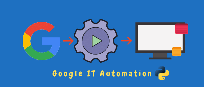 google it automation with python review