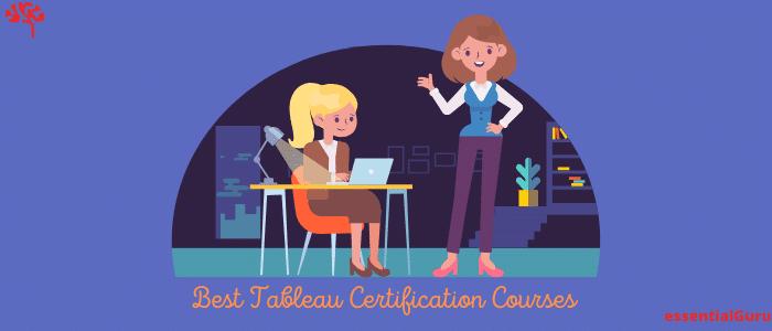 best tableau certification course