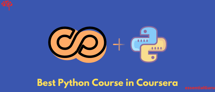 Best Python Course in Coursera