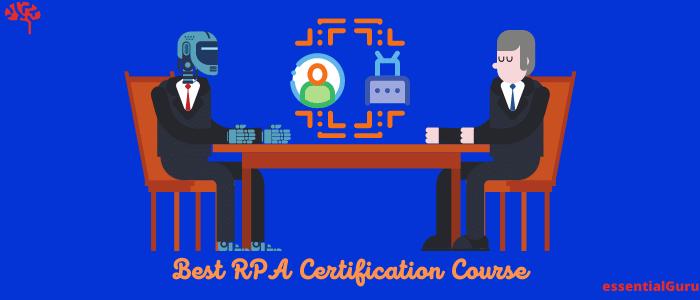Best RPA Certification