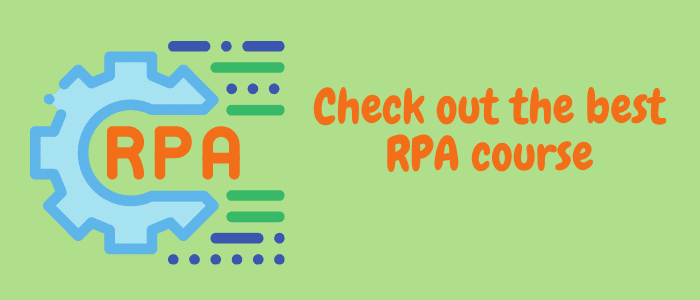 Best RPA course online