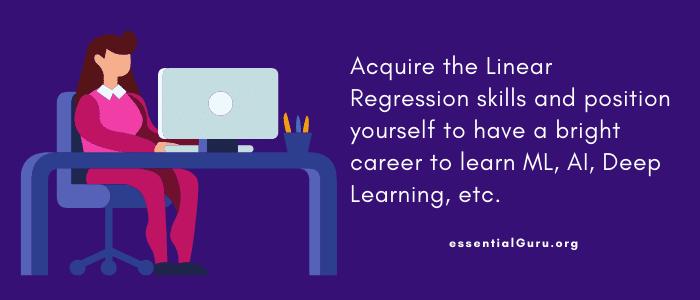 linear regression online course