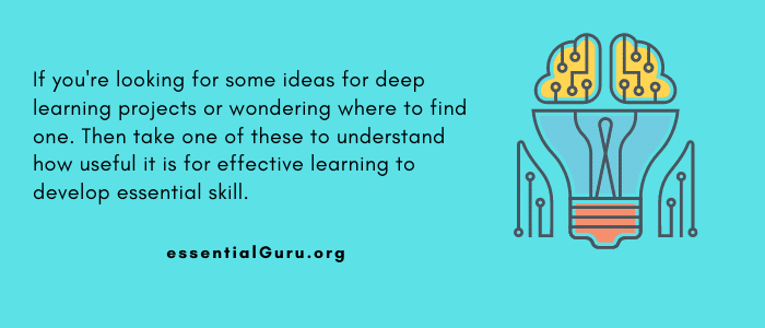 Deep Learning Projects for Students
