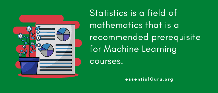 Probability and Statistics for Machine Learning course