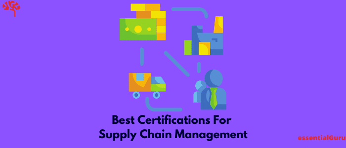 best certifications for supply chain management