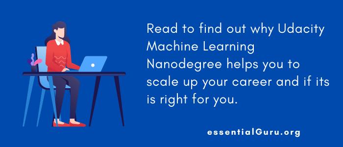is machine learning nanodegree worth it