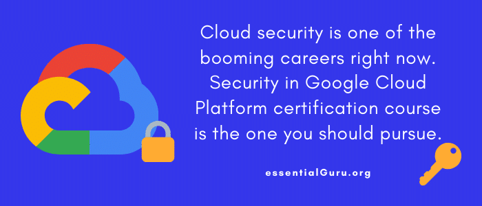 best Security in Google Cloud Platform course