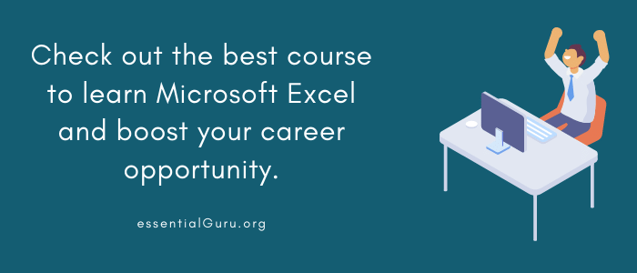Learn Microsoft Excel for beginners