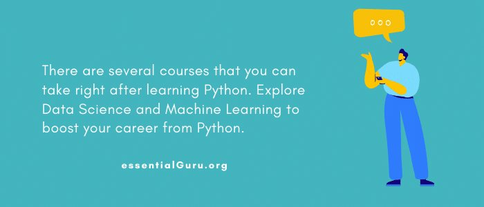 Learn Data Science after Python