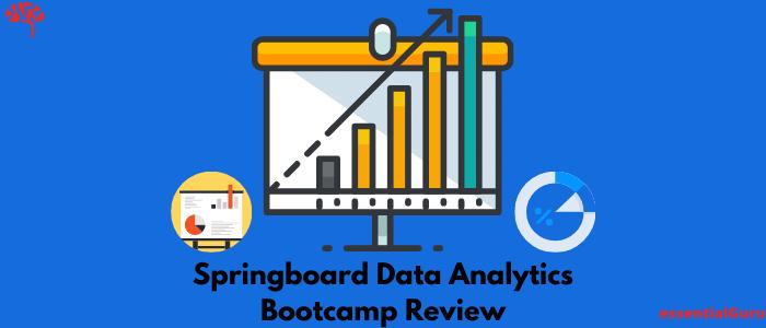 Springboard Data Analytics Career Track Review 2020