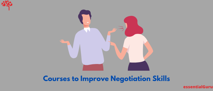 courses to improve negotiation skills