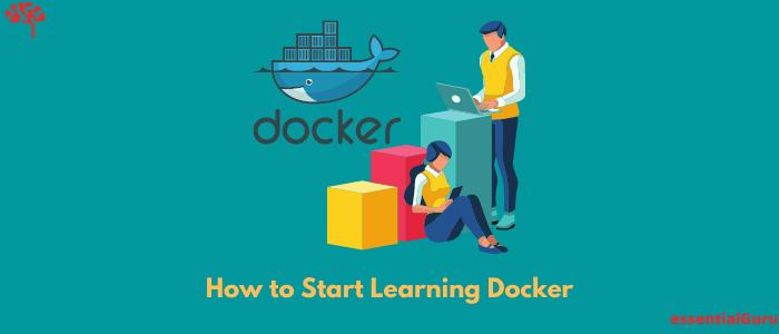 how to learn docker beginners